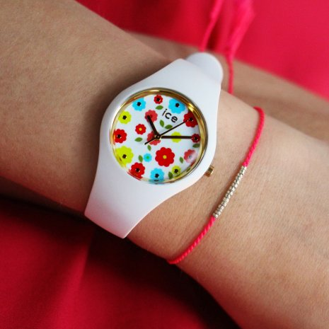 Wit quartzhorloge, maat Small Lente/Zomer collectie Ice-Watch