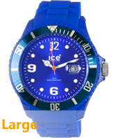 SI.BE.B.S.09 Ice-Forever 48mm Blauw horloge maat Big