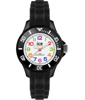 MN.BK.M.S.12 Ice-Mini 30mm Zwart Kinderhorloge
