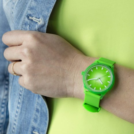 Groen solar quartzhorloge Lente/Zomer collectie Ice-Watch