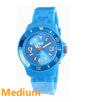 SD.BE.U.P.12 Ice-Solid 43mm Blauw horloge maat Small