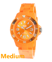SD.OE.U.P.12 Ice-Solid 43mm Oranje horloge maat Medium