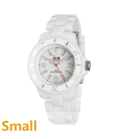 SD.WE.S.P.12 Ice-Solid 38mm Wit horloge maat Small