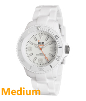 SD.WE.U.P.12 Ice-Solid 43mm Wit horloge maat Medium