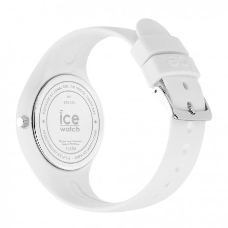 Blauw-wit siliconenhorloge, maat Small Lente/Zomer collectie Ice-Watch