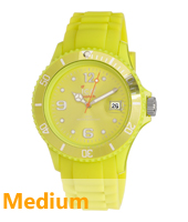 SI.EV.U.S.10 Sili Summer 43mm Endive Geel horloge maat Medium