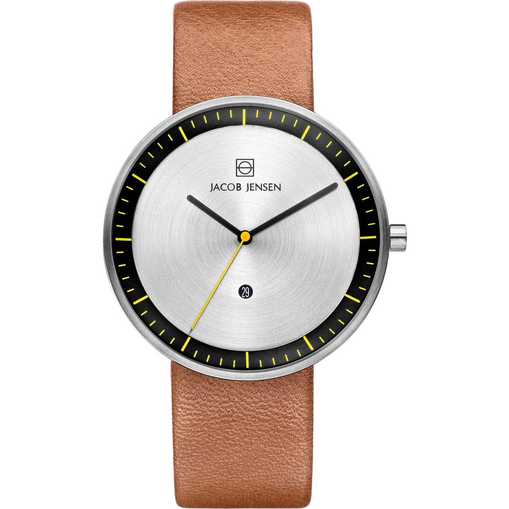 jacob jensen jj271 horloges horloge 271 strata. Black Bedroom Furniture Sets. Home Design Ideas