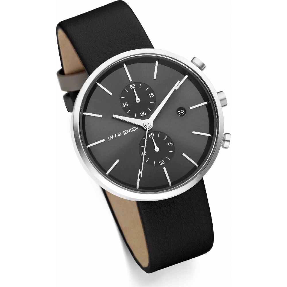 jacob jensen jj620 horloges horloge 620 linear. Black Bedroom Furniture Sets. Home Design Ideas