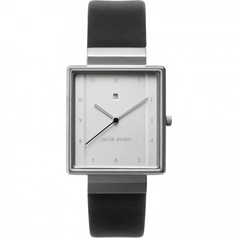 Jacob Jensen 866 Dimension Rectangular horloge