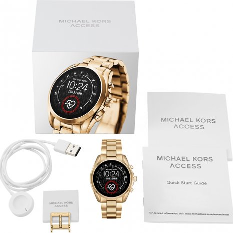 Touchscreen Smartwatch with Steel Bracelet - Gen 5 Herfst / Winter Collectie Michael Kors