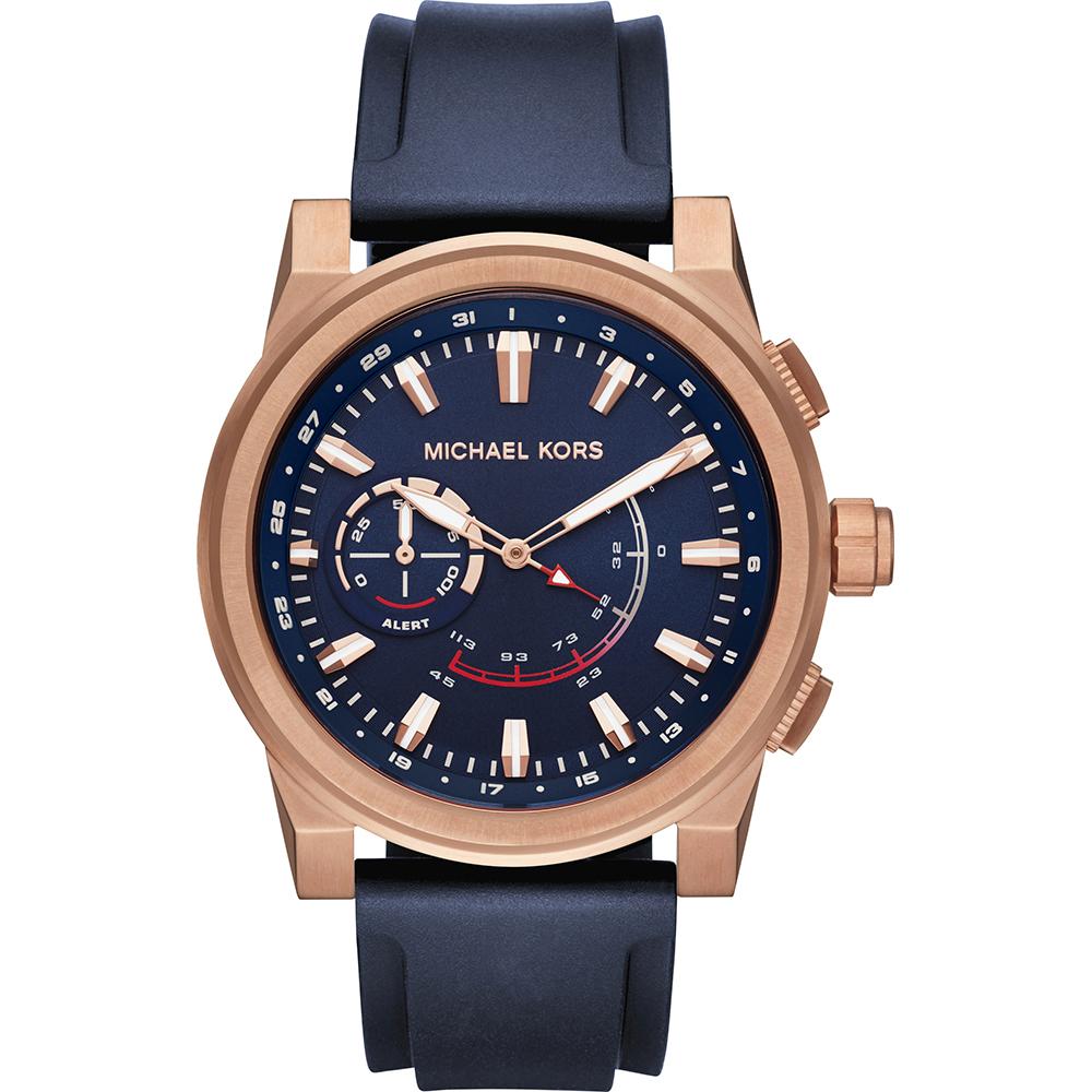 michael kors mkt4012 access smartwatch horloge grayson hybrid. Black Bedroom Furniture Sets. Home Design Ideas