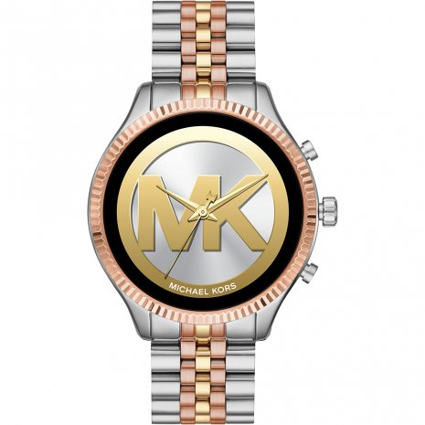 Touchscreen Smartwatch met stalen band - Gen 5 Herfst / Winter Collectie Michael Kors