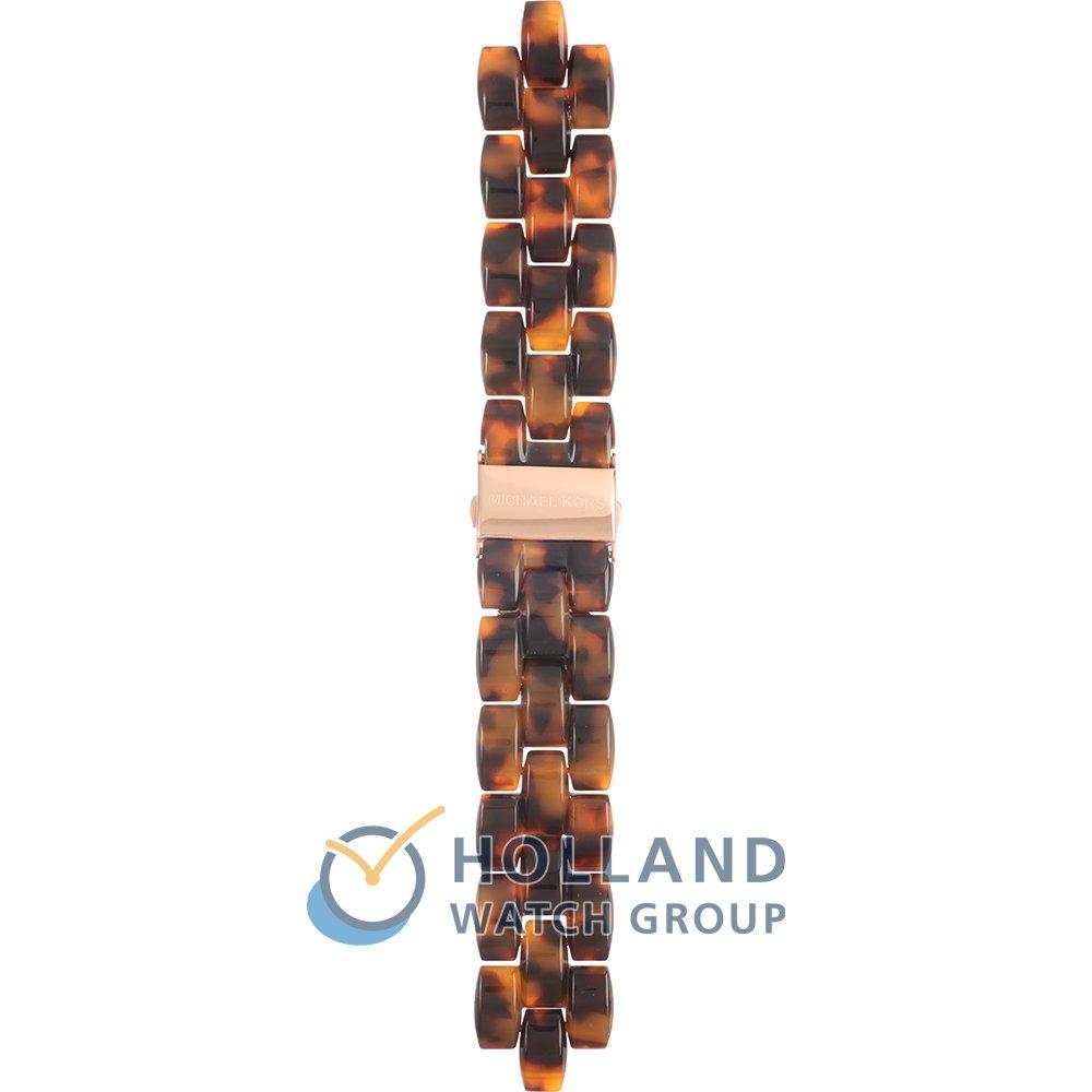 Michael Kors Horlogeband AMK5366 Showstopper • Officieel merkdealer • Horloge.nl