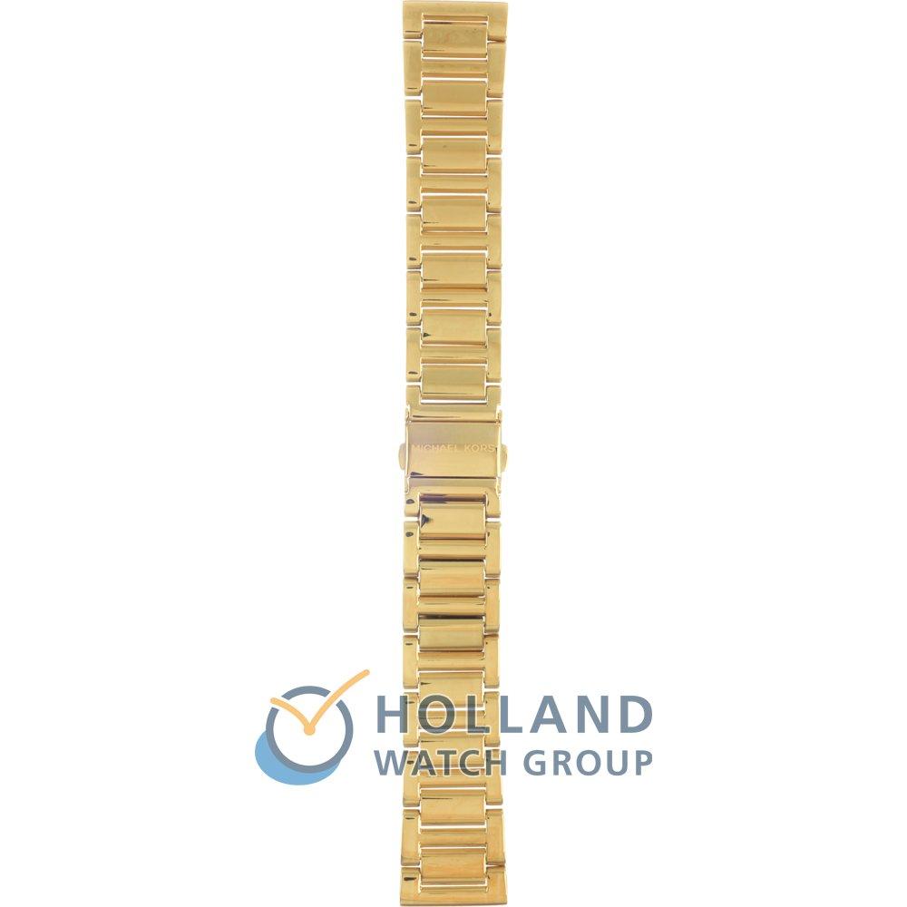Michael Kors Horlogeband AMK6209 Kinley • Officieel merkdealer • Horloge.nl