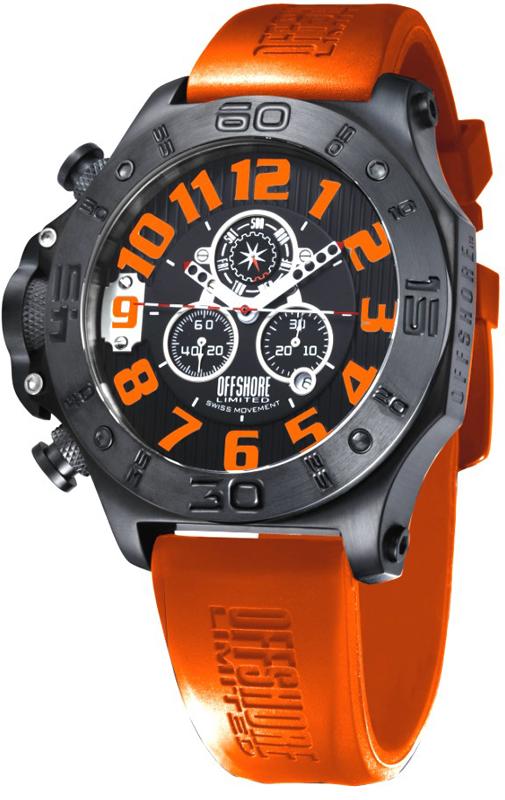 offshore limited off009k horloge tornade orange. Black Bedroom Furniture Sets. Home Design Ideas