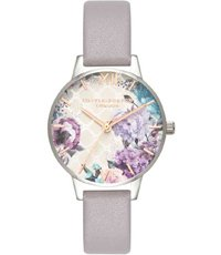 OB16EG104 Grey Lilac Rose Gold & Silver