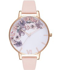 OB16PP30 Watercolour Florals 38mm