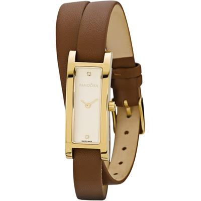 Home pandora pandora 812019lg horloge double oblong