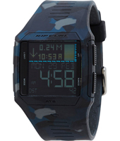 A1128-9403 Rifles Tide Camouflageprint digitaal surfhorloge