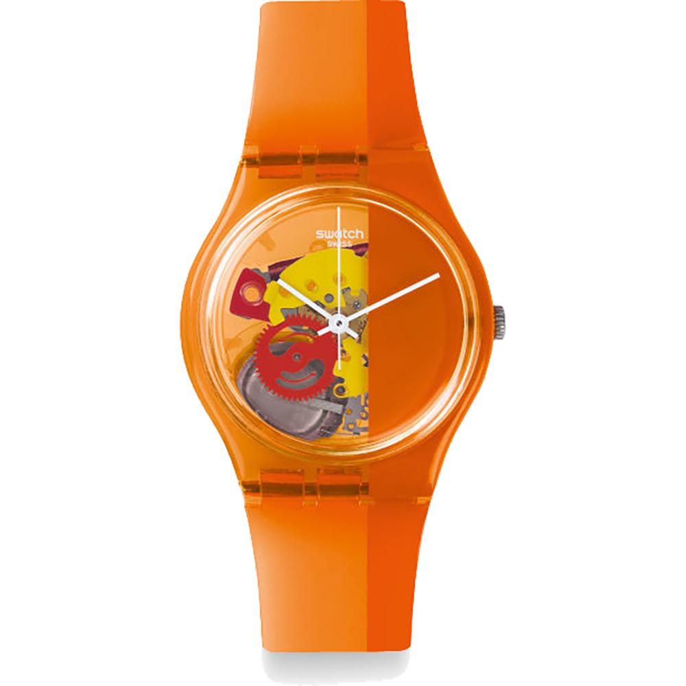 swatch go116 horloge bloody orange. Black Bedroom Furniture Sets. Home Design Ideas