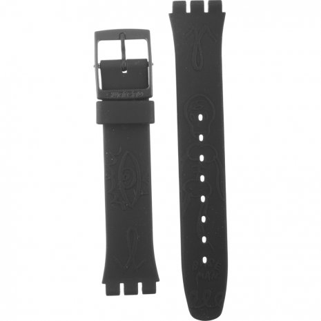 Swatch GB249 Midnight Magi Horlogeband