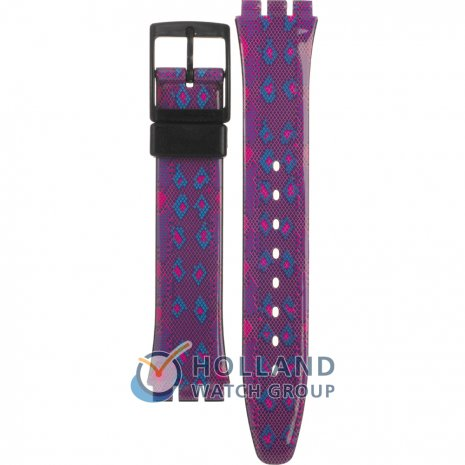 Swatch GB256 Snaky Purple Horlogeband