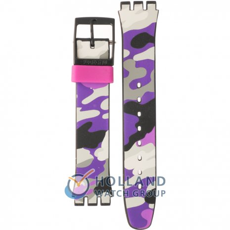 Swatch GB264 Hiding Purple Horlogeband