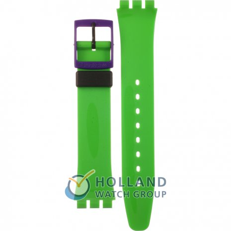Swatch GB267 Green 'N Violet Horlogeband