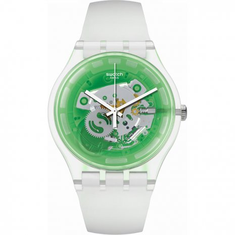 Swatch Greenmazing horloge