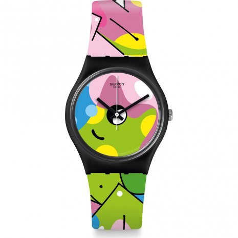 Swatch Image Of Graffiti horloge