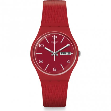 Swatch Lazered horloge