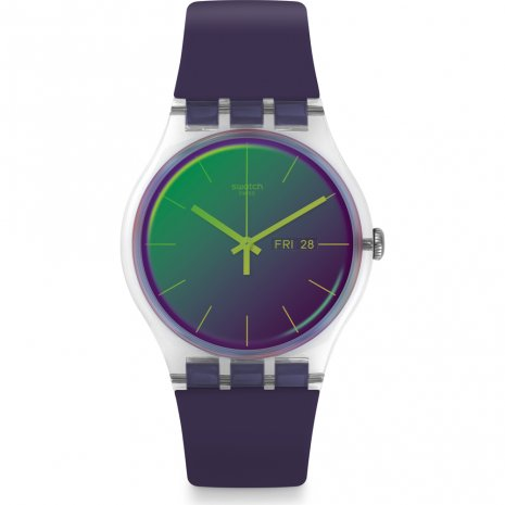Swatch Polapurple horloge