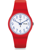 SUOR707 Red Me Up 41mm New Gent horloge
