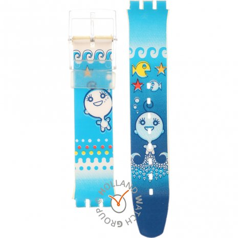 Swatch SDN907 Seaghost Horlogeband