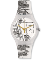 SUOZ197 The Swatch Art Peace Hotel 41mm New Gent horloge