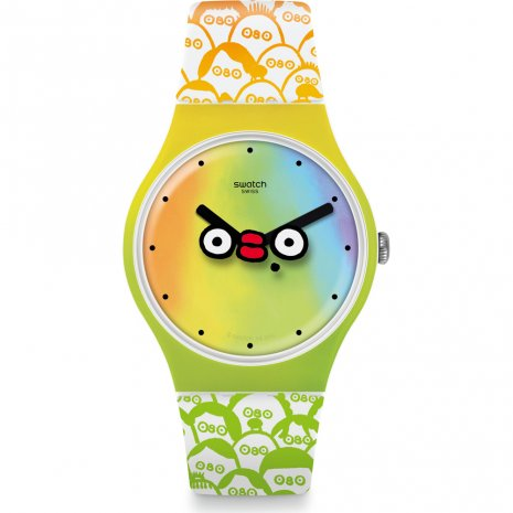 Swatch What's Yo Face horloge