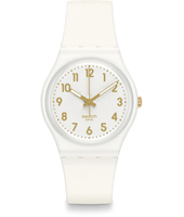 GW164 White Bishop 33.90mm Standard Size horloge