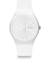 SUOW701 White Rebel 41mm New Gent horloge