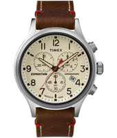 TW4B04300 Expedition Scout 42mm Stoere chronograaf met verlichting