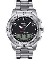 T0474201105100 T-Touch ll  42.70mm Geborsteld Staal Ana-Digi Chronograaf