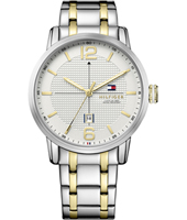 1791214 George 44mm Bicolor herenhorloge met datum