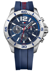 TH1791142 Nolan 46mm Blauw, sportief dag/datum herenhorloge