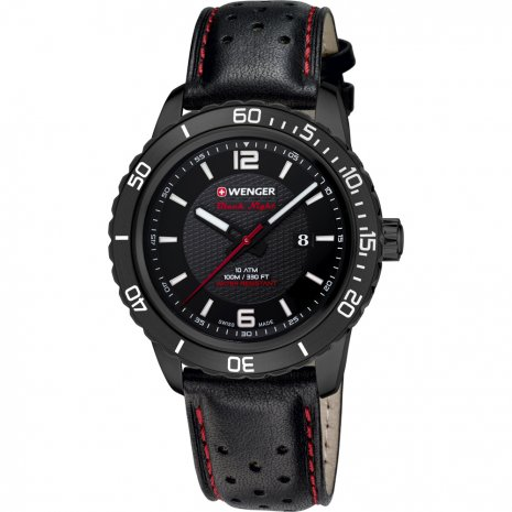 Wenger Roadster Black Night horloge